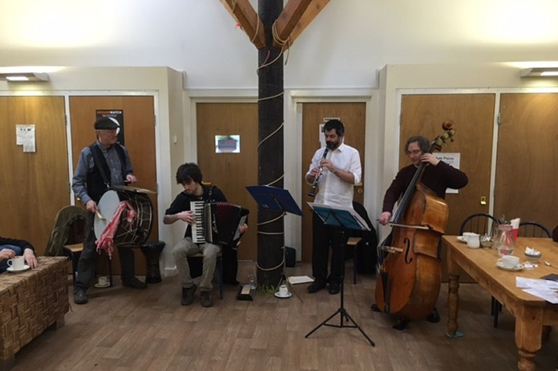 HorovoD performs at Ouseburn Farm